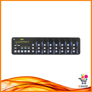 Korg NanoKontrol 2 Controller Tastiera Keyboard Midi Usb Blu Gialla Portatile