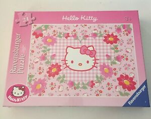 Ravensburger Jigsaw Puzzle - Hello Kitty In Blossom - 24 Pieces - Age 3+ - NEW