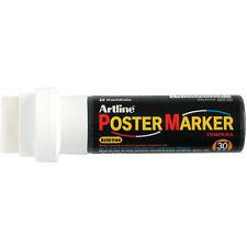 White Poster Marker Tempera 30
