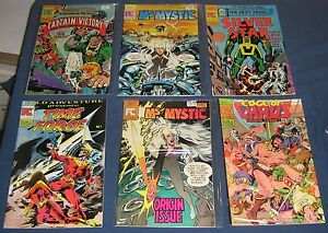 Lot of 6 Various Pacific Comics