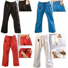 ProForce Combat Karate PANTS Martial Arts Taekwondo Training ALL COLORS