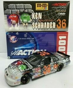 KEN SCHRADER 2001 HALLOWEEN M&M'S SPECIAL 1/24 ACTION DIECAST CAR 1/9,348