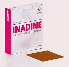 Inadine PVP-I Non Adherent Dressing - 5cm x 5cm - Pack of 25