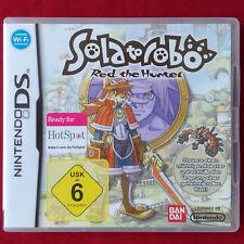 Nintendo DS ► solatorobo: red the Hunter ◄ dt. versión comercial | Lite | DSI XL | 3ds