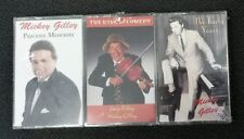 MICKEY GILLIE Cassette 3 Pack NEW Precious Memories King of Comedy Early Years