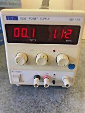 TTi EL561 Bench Power Supply DC 0V-56V 1.1A THURLBY THANDAR INSTRUMENTS