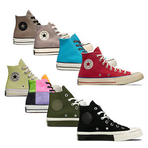 Converse Chuck Taylor All Star Chuck 70's Hi Canvas Textile Lace Up Trainers