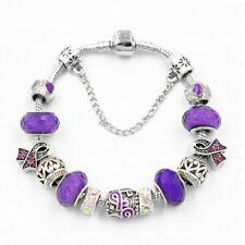 20g Amethyst  Silver Plated Bracelet Handamde Jewelry MB01075