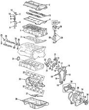 Genuine GM Ring Kit Pstn 21018813