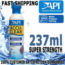 Api Accu-Clear Aquarium Fish Tank Pond Cloudy Water Aqua Treatment 237ml