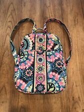 Justice Girls Peace Signs & Sequins Smaller Backpack