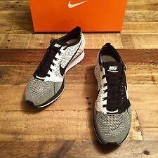Nike Flyknit Racer sz 10 mens 526628 002 Black/White V2 Free Trainer