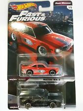 Hot Wheels Fast And Furious Mazda RX-3 & Nissan Fairlady Z