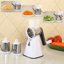 Round Vegetable Fruit Slicer Potato Carrot Julienne Grater Cheese Cutter Tool