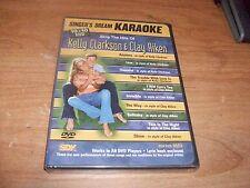 Singer's Dream Karaoke: Sing the Hits of Kelly Clarkson & Clay Aiken (DVD, 2011)