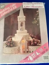 Wilton cathedral church kit décoration gâteau wedding cake topper communion gypsy