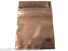 "100x silver anti ternir + corrosion intercepter ® 1/2 clair 4 ""x 4"" Zip-loc sac"