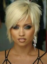 Carefree Hairstyle With Specially Layered Short Straight Silver Wig for You