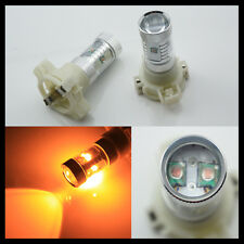 2x BIRNE PY24W PY24WY 5200S CAN-BUS LED LAMPE GELB Amber 30W Blinker 12V f. BMW