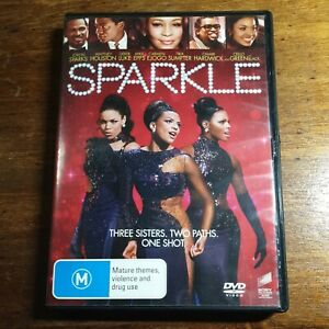 Sparkle DVD Whitney Houston R4 LIKE NEW FREE POST
