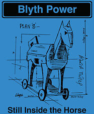 Blyth Power 'Plan B' T-Shirt Blue Ladies
