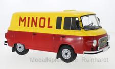 1/18 MCG Barkas B 1000 Kastenwagen gelb rot Minol 240651