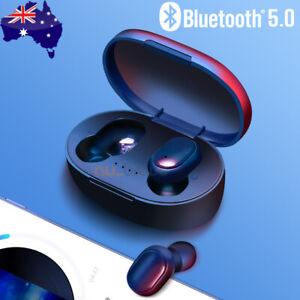 Bluetooth 5.0 Headset TWS Wireless Earphones Mini Earbuds Stereo Bass Headphones