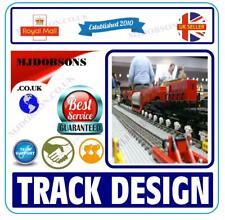 Model Railway Layouts Design-Build Track Plans CAD Software Hornby  OO Gauge