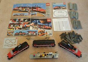 Vintage 1985 Lego  High Speed City Express Passenger Train Set (7745-1) Complete