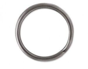 VMC SR-4 Split Rings Size 4 27lb Test Black Nickel Finish Pack of 8