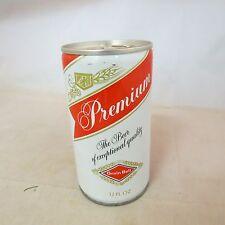 Premium Grain Belt, empty beer can, pull tab, 12 oz