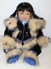 "Adora Eskimo Inuit ""Juneau"" Limited Edition 408/600 Doll 22"""