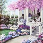 DIY 5D Full Drill Round Diamond Painting Garden Art Handmade Home Decor