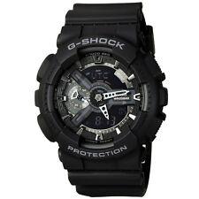 CASIO G-SHOCK Analog Digital 200M Waterproof Men Military Watch Black GA-110-1B