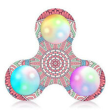 Court Muster LED Licht Fidget Hand Spinner Anti Stress Manipulative EDC ADHS Toy