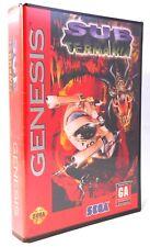 Genesis Sub Terrania - Brand New Factory Sealed