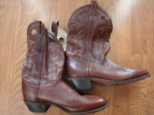 Double H Aero Glide 7 HH Brown Cowboy Western Boots 9.5 EE