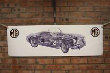 mg a coupe   mk2 1600 large pvc  WORK SHOP BANNER garage car show banner