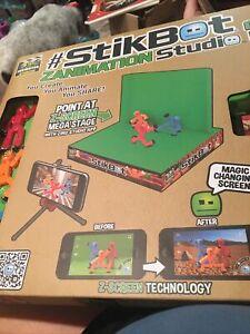 StikBot Pets Zanimation Studio Zing Purple Blue Orange Magic Screen Mega Pack