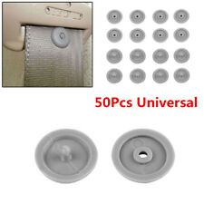 50Pcs Universal Clip Car Seat Belt Stopper Buckle Button Fastener Safety Clips