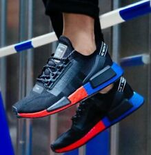 New adidas Originals NMD R1 V2 Mens sneaker casual shoes Tricolor black all siz