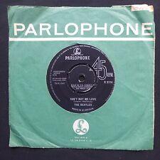 """THE BEATLES Can't Buy Me Love PARLOPHONE ORIOLE 1N/1N UK Original 7"""" 45 NM"""