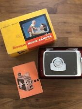 Vintage Kodak 8mm Brownie Model 2 Movie Camera w/ Box & Directions