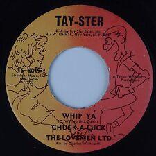 CHUCK-A-LUCK & LOVEMEN LTD: Whip Ya TAY-STER Soul Funk 45 NM-