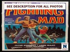 "NobleSpirit NO RESERVE Original 1978 Fighting Mad 27x41"" Folded Movie Poster"