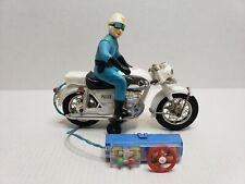 Rare Vintage Bandai Honda Dream Police Auto Cycle R/C Motorcycle Japan