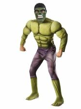The Incredible Hulk XL Costume Avengers Adult Men's Halloween Muscle Adult NEW