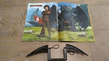 How To Train Your Dragon Magazine Toothless Dragon Viking Crossbow Poster Toy