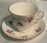Hammersley Fine Bone China Cup & Saucer Princess House Pink Rose Design  England