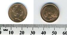 Australia 1985 - 1 Cent Bronze Coin - Queen Elizabeth II - Feather-tailed Glider